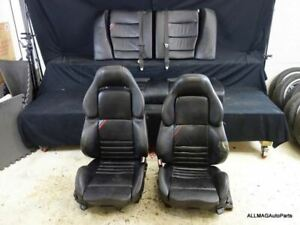 Bmw M3 Vader Seats Black Leather 1995 1999 E36 Coupe