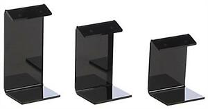 Black Earring Display Stand Jewelry Holder 2 3 4 High Set Of 3 Qty 24