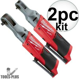 Milwaukee 2556 20 M12 Fuel 12v Cordless 1 4 3 8 Ratchets Tools Only New