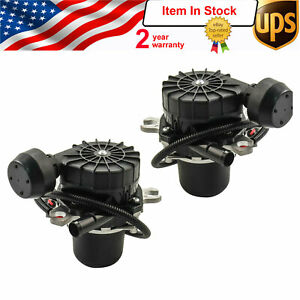 2x Secondary Air Pump Assembly For Toyota Sequoia Tundra Lexus Lx570 2007 2013