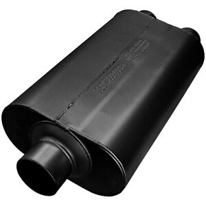 Flowmaster 8530552 Super 50 Delta Flow Muffler 3 Center Inlet 2 5 Dual Outlet