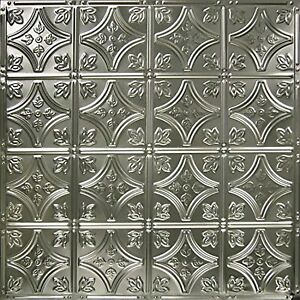 American Tin Ceilings 24x24nail Up Tin Ceiling Tile Pattern 3 5 Pack U New