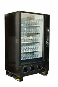 Dixie Narco Dn5591 Bev max Glass Front Drink Vending Machine Fully Refurbished