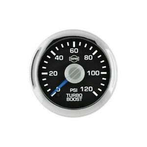 Isspro Ev2 Turbo Boost Gauge 0 120 Psi R34633