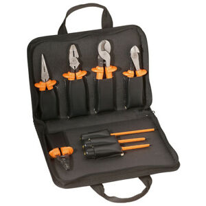 Klein Tools 33526 Basic Insulated Tool Kit 1000 volt 8 piece