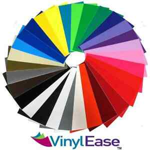 10 Rolls Premium 12 In X 10 Ft Sign Craft Vinyl Upick From 30 Colors Made In Usa