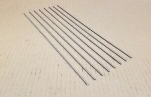 304 Stainless Steel 1 8 Round 12 Long Bars Rods 8 Pack