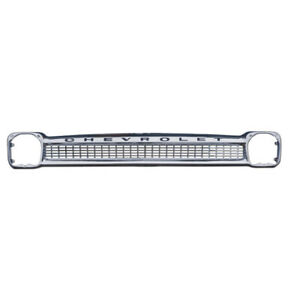 Grill Chevrolet Truck 1964 1965 1966 Chrome Grill New Fits All Models