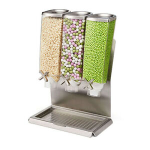 Rosseto Ez pro T3 Commercial Table Top Cereal candy coffee dry Food Dispenser
