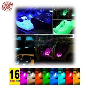 Strip Music Control Car Interior Atmosphere Neon Lights 4pc 48 Led And Ir Remote