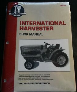 I t International Harvester Tractor Service Manual 234 244 254 New Ih 55