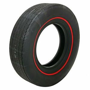 Set Of 4 Coker Firestone Wide Oval Tires F70 14 Bias ply Redline 54870