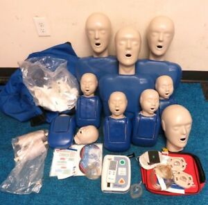 Cpr Prompt 8 Packs 3 adult child 5 infant With Aed Practi trainer accessary