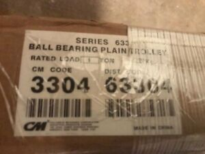 Cm Series 633 1 Ton Ball Bearing I beam Hoist Trolley Part 3304 Upc 63304