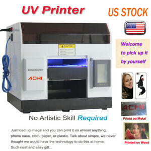 A4 Uv Printer 6 Color For Phone Case cover Glass Metal Wood 3d Embossed