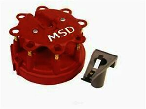 Distributor Cap And Rotor Kit vin F Gas Carb Natural Msd 8450