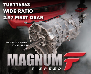 new Tremec T56 Magnum f 6 speed Transmission F body Wide Ratio 2 97 First