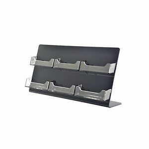 6 Pocket Business Card Holder Multi Slot Organizer Counter Qty 6