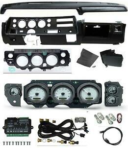 70 72 Chevelle Ss Dash Conversion Kit Dakota Digital Vhx 70c cvl Gauges Dashpad