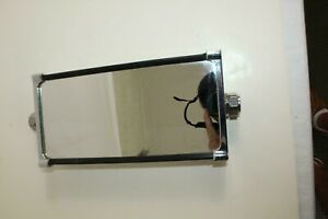 Vintage Concave Back Chrome Mirror Fits A 3 4 Pipe