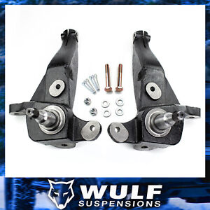 4 Front Spindle Lift Kit For 1998 2000 Ford Ranger 2wd Coil Spring Suspension