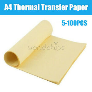 5 10 50100pcs A4 Heat Toner Transfer Thermal Paper For Iron Pcb Prototype Board