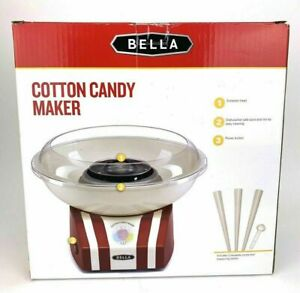 Classic Vintage Style Cotton Candy Maker Bella Red White Party Festival Birthday