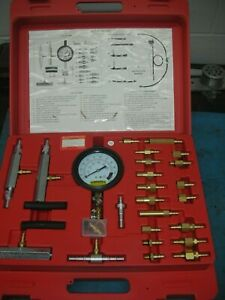 New Pittsburgh Master Fuel Injection Pressure Test Kit 41 Pieces 97706