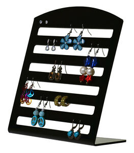 Earring Organizer Display Stand Holds 36 Pairs Jewelry Holder Qty 6