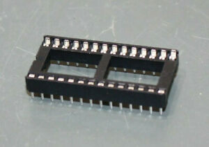 170 Eprom Socket 28 pin Dip 0 6 15 24mm Wide 2 54mm Pitch Dip28 Ic Base