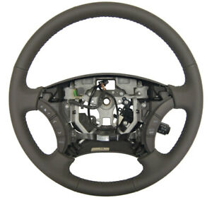 2005 06 Toyota Camry Steering Wheel Dark Charcoal Gray Leather New 4510006c11b0