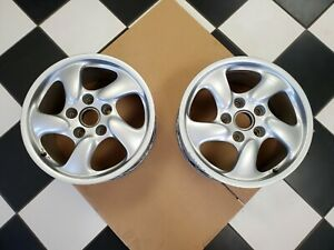 1997 2004 Porsche Boxster 17x8 5 Wheel Pair 986 362 126 05