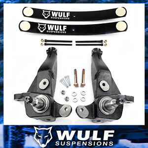 4 Front 2 Rear Lift Kit W Spindles Add a leaf For 1998 2000 Ford Ranger 2wd