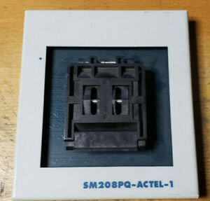 Sm 208pq actel 1 Socket Module working Removed From Working Equipment c14b4
