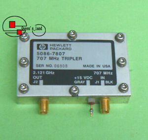 1 Hp 5086 7807 In 707mhz Out 2 121ghz Utg Tripler Frequency Multiplier