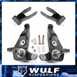 4 Front 2 Rear Lift Kit For 1998 2000 Ford Ranger 2wd W Coil Suspension