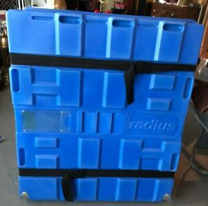 Radius Portable Tradeshow Booth Tabletop Displays And Wheeled Shipping Case