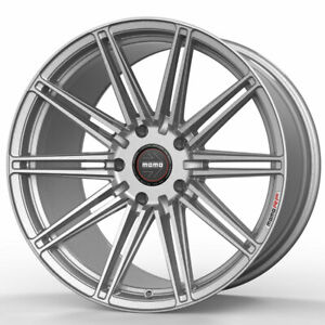 20 Momo Rf 10s Silver 20x9 Forged Concave Wheels Rims Fits Jaguar X type