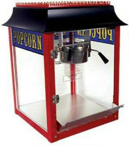 Red 1911 Old Fashion 4 Ounce Popcorn Machine