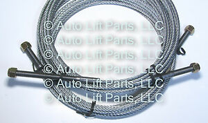 Tuxedo Tp11kac D Direct Pull Auto Lift 2 Post Equalizer Cables Set Of 2 Cables