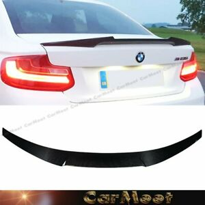 Tuning Carbon Fiber M4 Look Back Trunk Spoiler For Bmw 14 18 F22 2 series Coupe