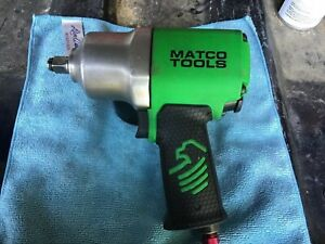 Matco Tools Air Impact Wrench Mt2769 1 2 Drive Lightly Used
