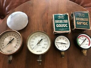 4 1 2 Marshalltown Gauges Steam Punk Lamp Making
