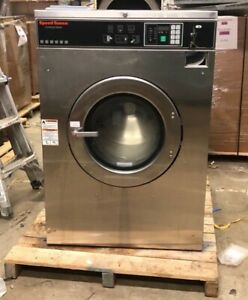 Speed Queen 60lb Coin Op Commercial Washer 3ph Laundromat Huebsch Unimac Ipso