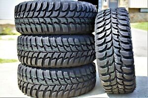 4 New Crosswind M t Lt 305 70r16 33x12 00r16 Load E 10 Ply Mt Mud Tires