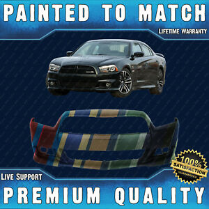 New Painted To Match Front Bumper Cover For 2012 2013 2014 Dodge Charger Srt 8