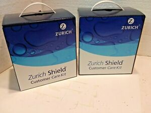 Zurich Shield Automotive Customer Care Interior Exterior Detail Kit New Lot Of 2