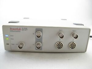 Adinstruments Powerlab 2 25 2 channel Data Acquisition System Ml825