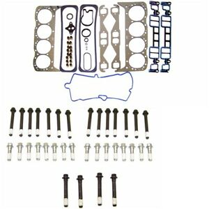 Head Gasket Set Head Bolts Fits 96 02 Chevy Gmc Pickup Van Tahoe Yukon 5 7 350