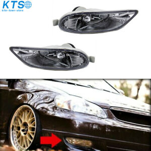 Fog Lights Clear Lens Front Lamps For 2005 2006 2007 2008 Toyota Corolla Bumper